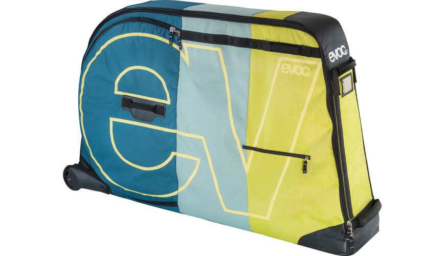 Evoc Bike Travel Bag Cykelkuffert 280 L grøn/petroleumsgrøn
